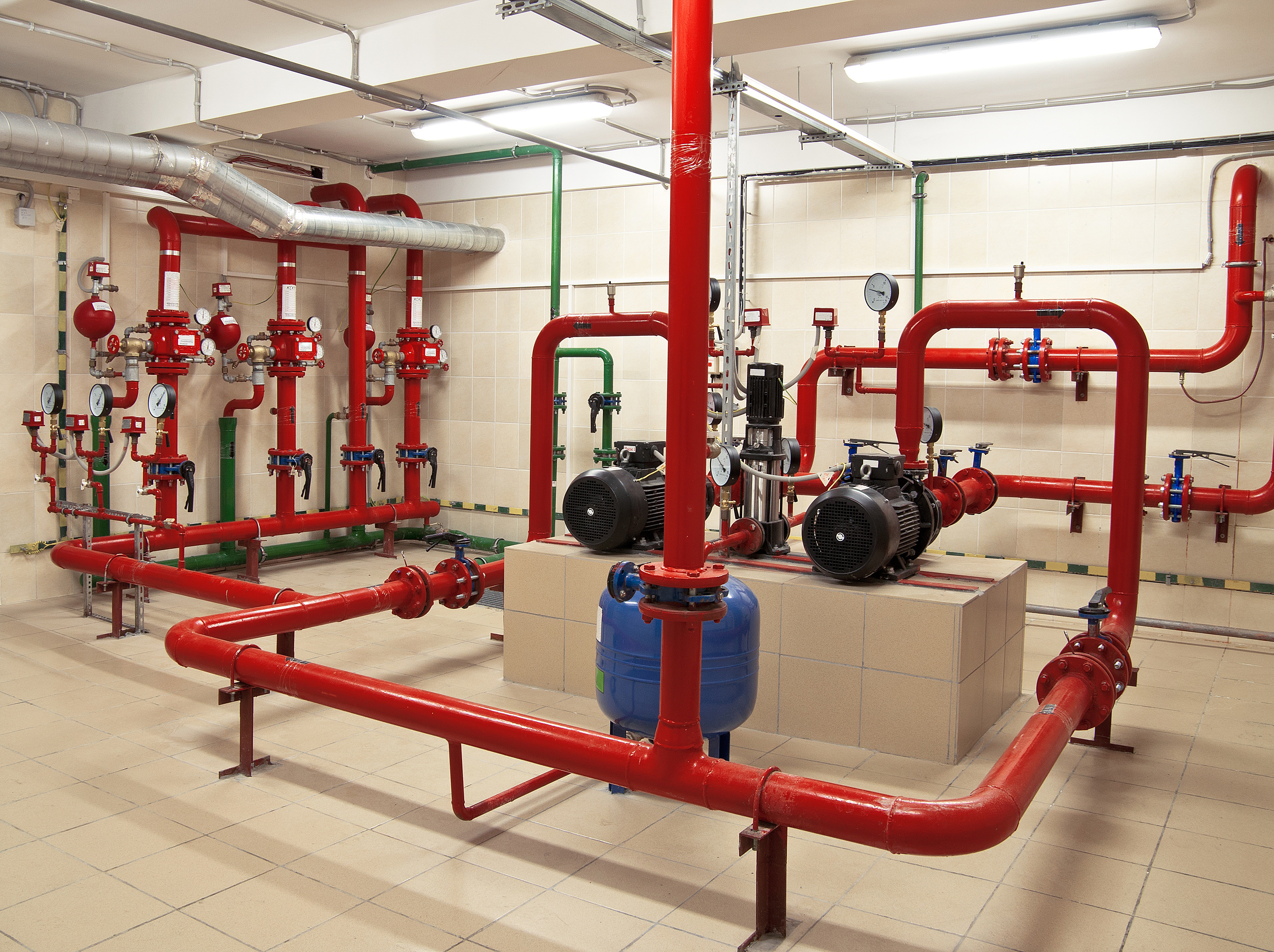 Fire Sprinkler System Testing | Emergency Plumbing and Vac